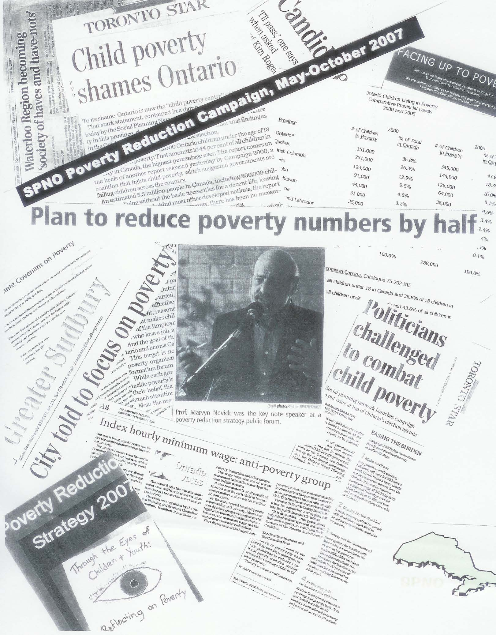 Poverty Reduction Strategy Campaign Collage 2007